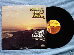 MORNING Carol Gaddy LP Christian piano Fayettville AK