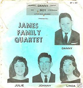 religious EP ps James Quartet J.D. Sumner Wally Fowler
