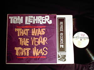 Tom Lehrer Week That Was mono LP Hungry i Dr. Demento