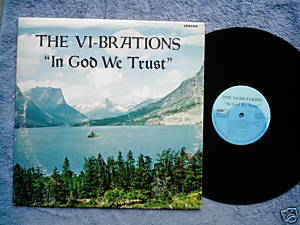 Vi-Brations In God We obscure religious patriotic LP