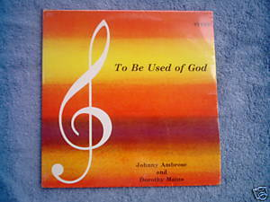 Ambrose Mains seald gospel LP Detroit To Be Used of God