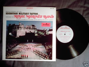 Edinburgh Military Tattoo 1965 LP bagpipes pipe & drums