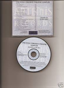 The Fugs Firesign Theatre Sampler CD 2003 Thanksgiving