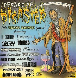 Decade Disaster CD hardcore punk Zero Boys Septic Death