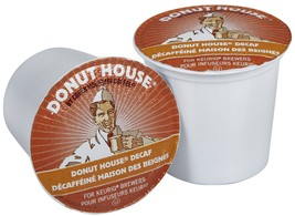 Donut House Donut Decaf Coffee, 24 Keurig K Cups, Free Shipping - $19.99