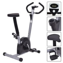 Exercise Bike Cardio Fitness Gym Cycling Machine Workout Training Statio... - $5.308,73 MXN