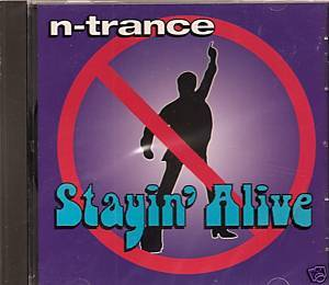 Stayin' Alive NEW CD single N-Trance 1995 4tx Radikal