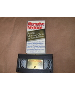 Alternative Medicine Natural Home Remedies VHS - $2.99