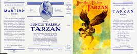 Edgar Rice Burroughs JUNGLE TALES OF TARZAN facsimile jacket - 1st edition - $21.56