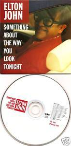Elton John withdrawn US CD single promo Something About