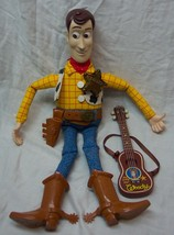 "Mattel Walt Disney Toy Story TALKING WOODY COWBOY 15"" Plush Doll Toy - $39.60"