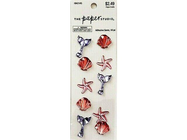 The Paper Studio Seaside Adhesive Gem Stickers #1842145