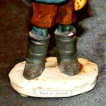 """""""Back to School"""" by Norman Rockwell Figurine AA19-1662 Vintage NR2 image 9"""