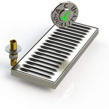 """ACU Precision Sheet Metal 0150-30 Surface Mount Drip Tray with Drain 5"""" ... - $84.00"""