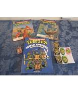 Teenage Mutant Ninja Turtles 2 Magazine Lot Fall Winter 1991 Activity Bo... - $24.85