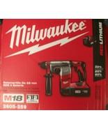 "Milwaukee 2605-259 18 Volt M18 7/8"" SDS Plus Rotary Hammer Kit EURO 220-... - $267.30"