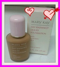 New Nib Mary Kay Day Radiance Cocoa Beige Liquid Foundation 1 Fl Oz #6332 Rate - $12.99