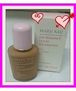 NEW NIB Mary Kay Day Radiance COCOA BEIGE Liquid Foundation 1 Fl OZ #633... - $12.99