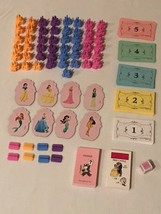 Monopoly Jr Junior Disney Princess Cupcake Toppers and Replacement Parts... - $3.99+