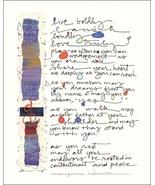 Framed Mary Anne Radmacher Print Live Boldly - $13.00