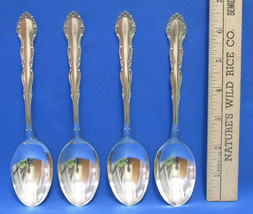 Set 3 Vintage Tablespoons Spoons 1881 Rogers Oneida LTD Flirtation Silverplate - $19.79