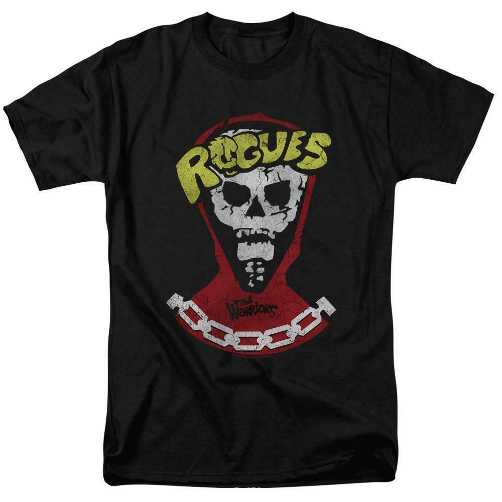 The Warriors t-shirt Rogues retro 70s cult classic movie graphic tee PAR437