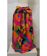 VINTAGE Wrap Maxi Skirt Greencastle Multi-Color Groovy Southwest Flair P... - £342.09 GBP