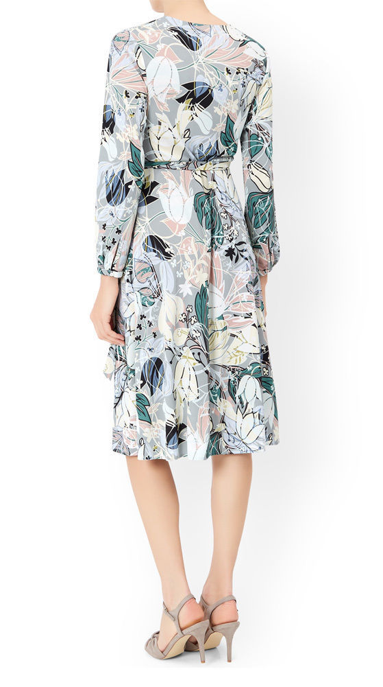 MONSOON Thea Wrap Dress BNWT