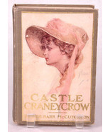 CASTLE CRANEYCROW-G.B. McCutcheon-1902-Hard Cover Cloth-Old Vingage Anti... - $14.01