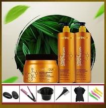 HAIRINQUE Hair Care System: Shampoo+Mask+Conditioner , Argan & Macadamia , Tools - $99.99