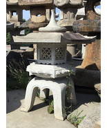 Japanese Stone Lantern Kaku Yukimi Gata - YO01010037 - $2,139.59