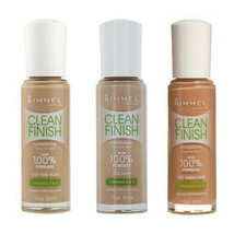 NEW Rimmel Clean Finish Foundation Oil Control Look 100% Poreless - Choo... - $7.91+