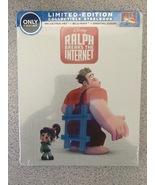 Ralph Breaks the Internet [SteelBook 4K Ultra HD Blu-ray+ Digital HD] [2... - $27.99