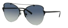 Tiffany & Co. TF3063 60074L Black Metal Frame Blue Gradient Sunglasses 64mm - $270.63