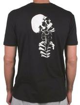 Zero Mens Black Dead On Arrival Skeleton Gun Revolver Skull Short-Sleeve T-Shirt image 1
