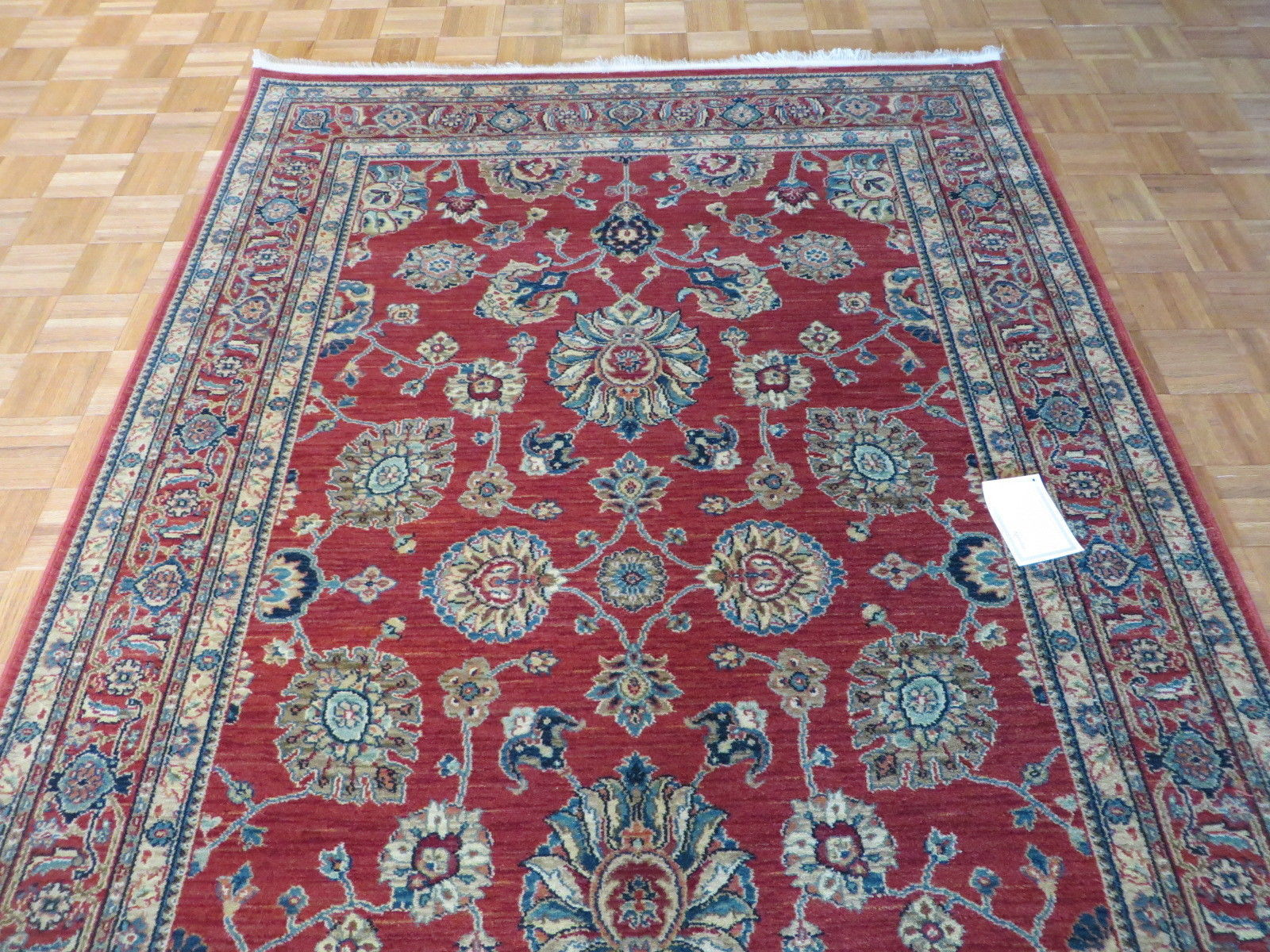 4 X 6 Brand New Karastan Rug Sovereign Sultana Red 14606