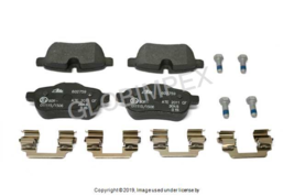 BMW Z4 (2009-2011) Brake Pad Set Rear ATE + 1 YEAR WARRANTY - $98.25