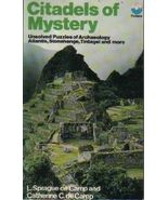 Citadels Of Mystery by L Sprague De Camp and Catherine C De Camp Paperba... - $5.95