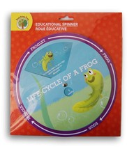 Teaching Tree Educational Spinner - The Life Cycle of a Frog - $8.10