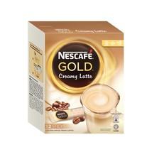 NESCAFE GOLD CREAMY LATTE Premix Instant Coffee... - $18.99
