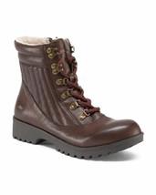 New Jbu Jambu Brown Synthetic Leather Sport Boots Size 8 M Size 8.5 M - $40.03