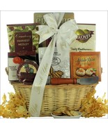 Taste of Tuscany: Thank You Cheese & Snack Gift Basket - $75.99