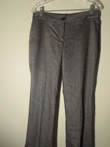 Talbots 65% OFF Women's Petite Size 6P Gray Dress Pants Wool Blend New With Tags - $28.07