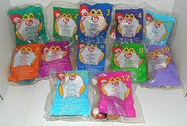 1993 McDonald's Ty Beanie Babies -Set of 12 / Unopened - RARE - $22.52
