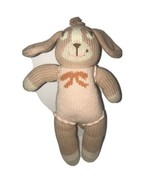 "Bla Bla Pink Bunny Rabbit Knit Plush Bow Blabla  Baby Soft Toys 12""  - $48.37"