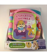 Fisher-Price Laugh & Learn Storybook Rhymes Interactive Electronic Book  - $27.71
