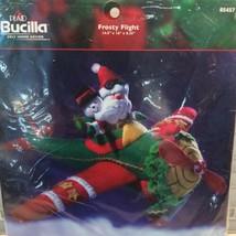 Bucilla Frosty Flight Christmas Airplane Felt Appliqué Kit 85457 Maria S... - $49.11