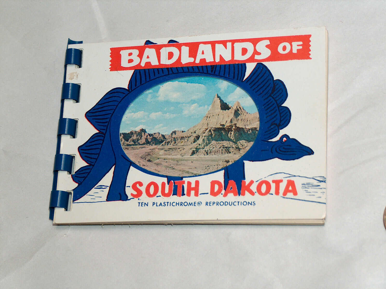 Primary image for 1960s Bad Lands South Dakota SD 10 Plastichrome Reproduction Views Travel Book
