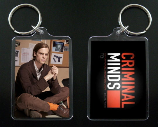 Primary image for CRIMINAL MINDS keychain / keyring MATTHEW GRAY GUBLER 6