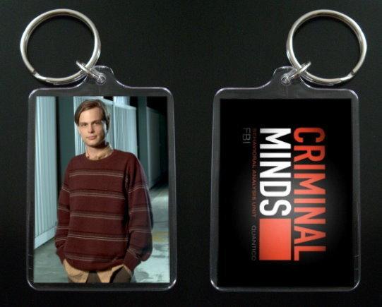 CRIMINAL MINDS keychain / keyring MATTHEW GRAY GUBLER 7 Bonanza